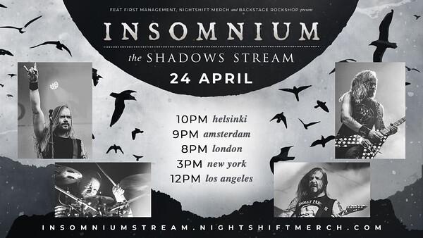 Insomnium Announce 'The Shadows Stream'