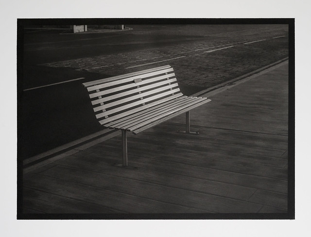 Scarborough - Steel Bench
