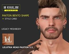 Paxton Bento Shape