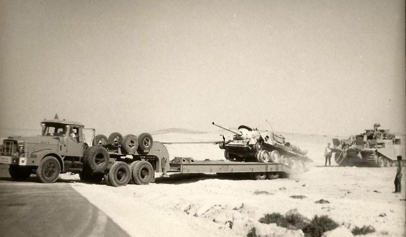 Centurion-ARV-Scammell-SU-100-sinai-1969-f-1