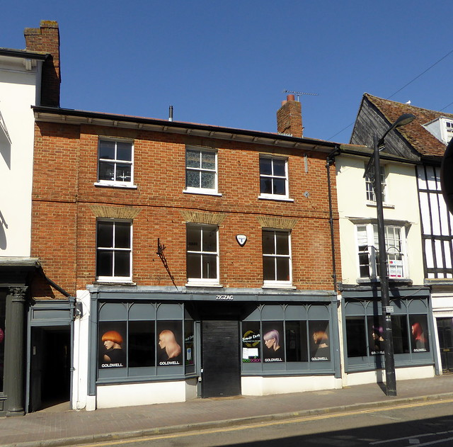 Circa 17th century - 40 & 42 High Street Newport Pagnell - 04Apr21 grade II listed.