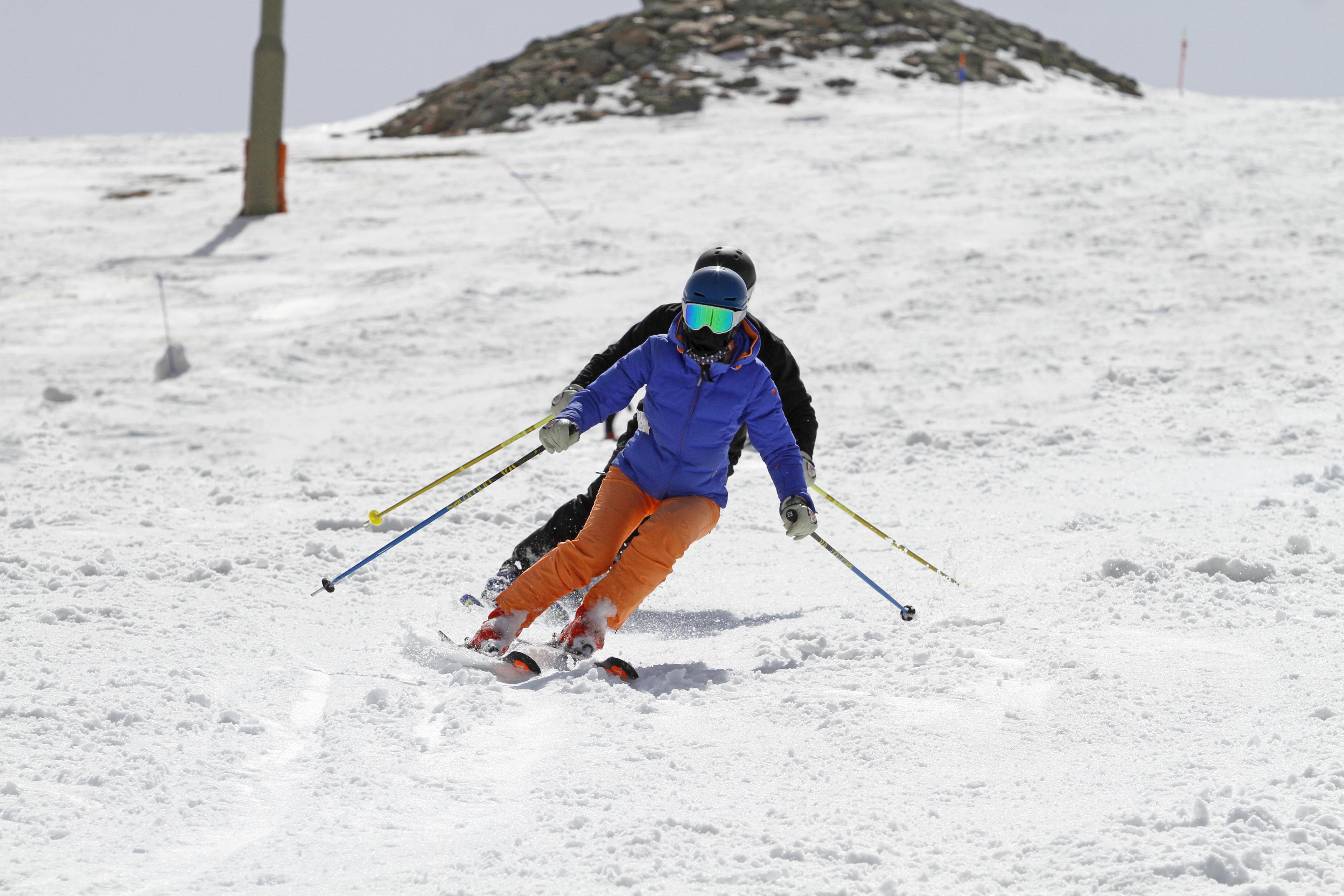 Camille y Nacho de Hablamos de esquí