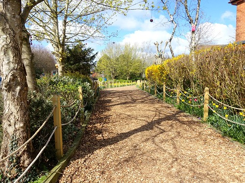 Valentine's Meadow Bridle Path and decorations | by Tony Worrall