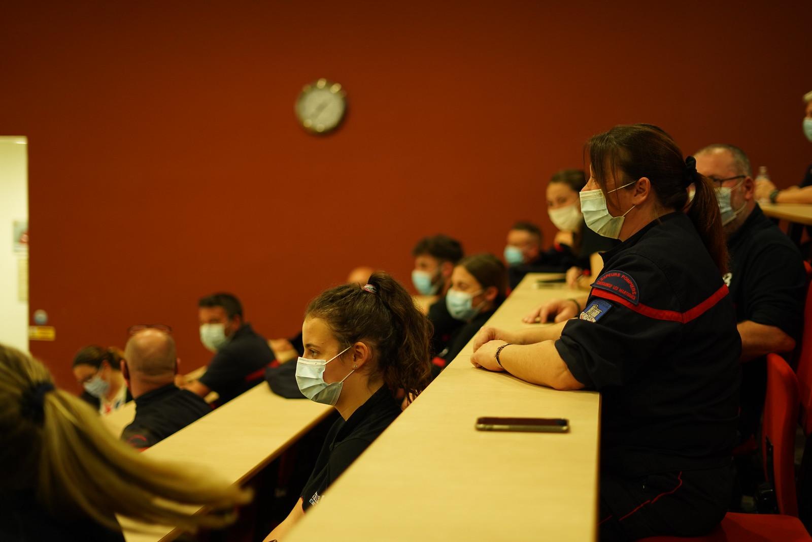 Les Pompiers13 formés à la vaccination