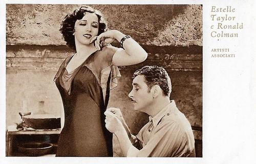 Estelle Taylor and Ronald Colman in The Unholy Garden (1931)