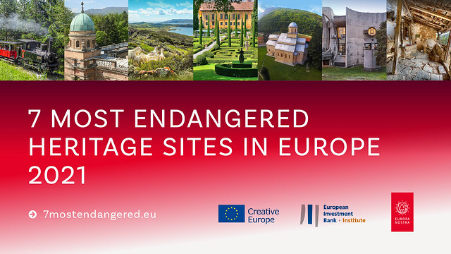 The 7 Most Endangered Heritage Sites in Europe 2021