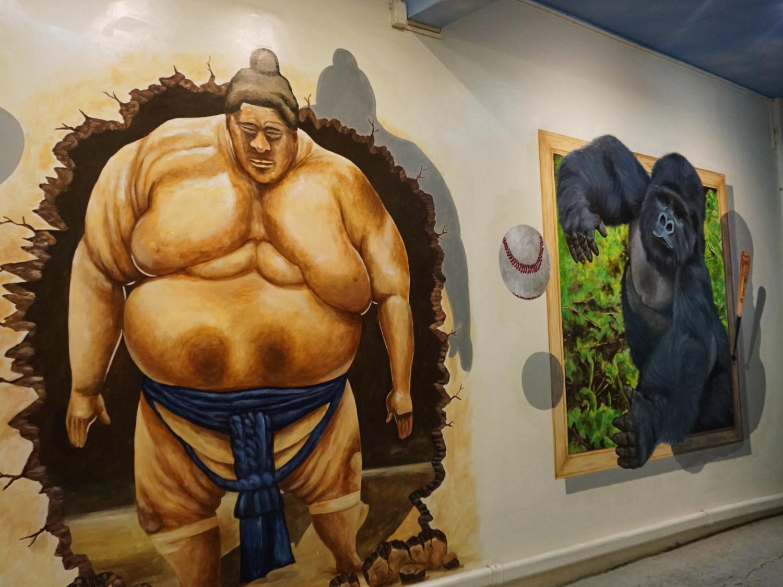 Chinatown Bangkok wall art