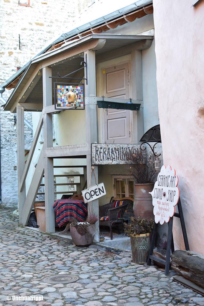 Keramiikkapaja Tallinnan vanhassa kaupungissa