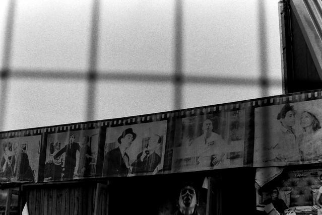Abandoned frames...