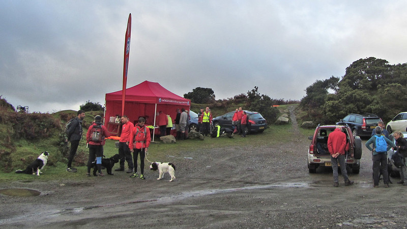 Quarry Car Park and the start of the walk