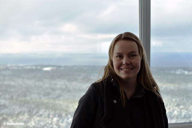 Jenni Tallinnan tv-tornissa