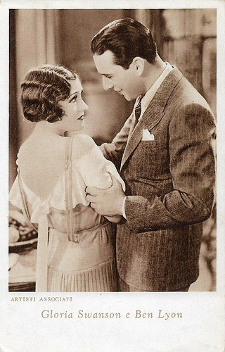 Gloria Swanson and Ben Lyon in Indiscreet (1931)
