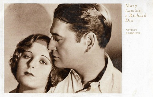 Richard Dix and Mary Lawlor in Shooting Straight (1930)