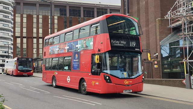 Go-Ahead London WHV51 (BP15 OMA) East Croydon 7/4/21