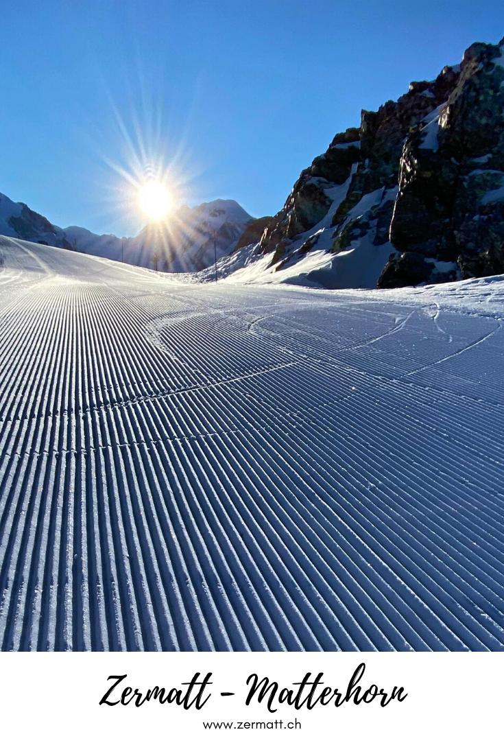 Zermatt - First Track