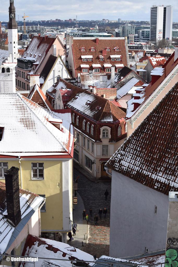 Maisema Kohtuotsan näköalatasanteelta Tallinnassa