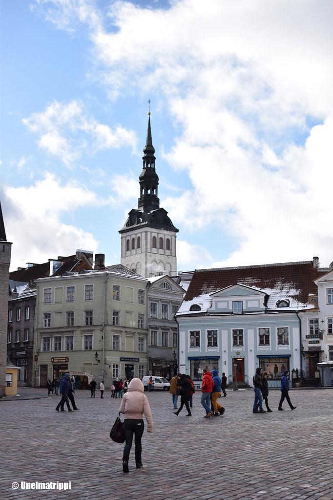 Tallinnan tori vanhassakaupungissa