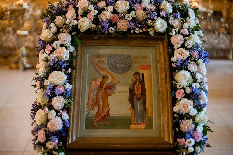 7 апреля 2021, Благовещение Пресвятой Богородицы / 7 April  2021, Annunciation of the blessed virgin Mary