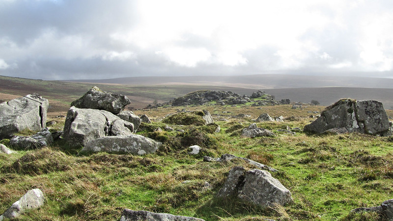 Combshead Tor from Hingston Hill