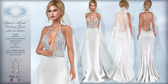 *Lurve* Cupid's Heart Wedding Gown and Veil