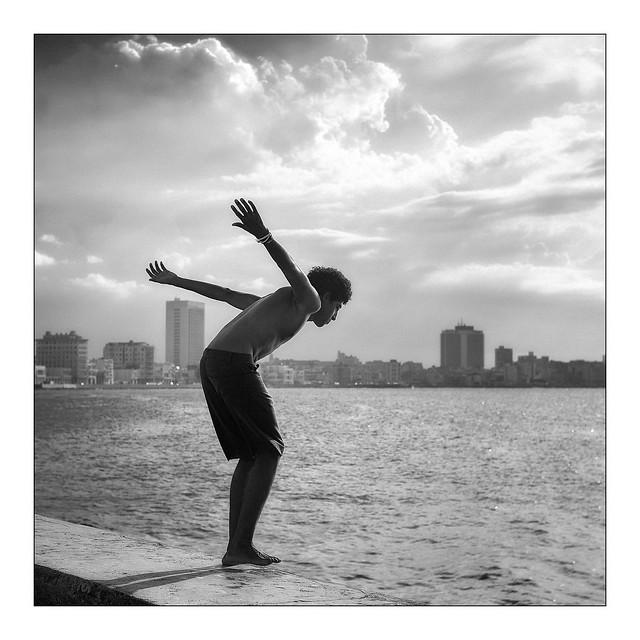 Le saut du Malecon à la Havane
