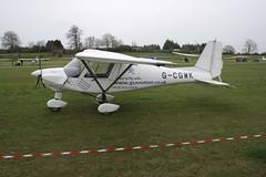 G-CGWK Ikarus Comco C-42 [1103-7133] Popham 050512
