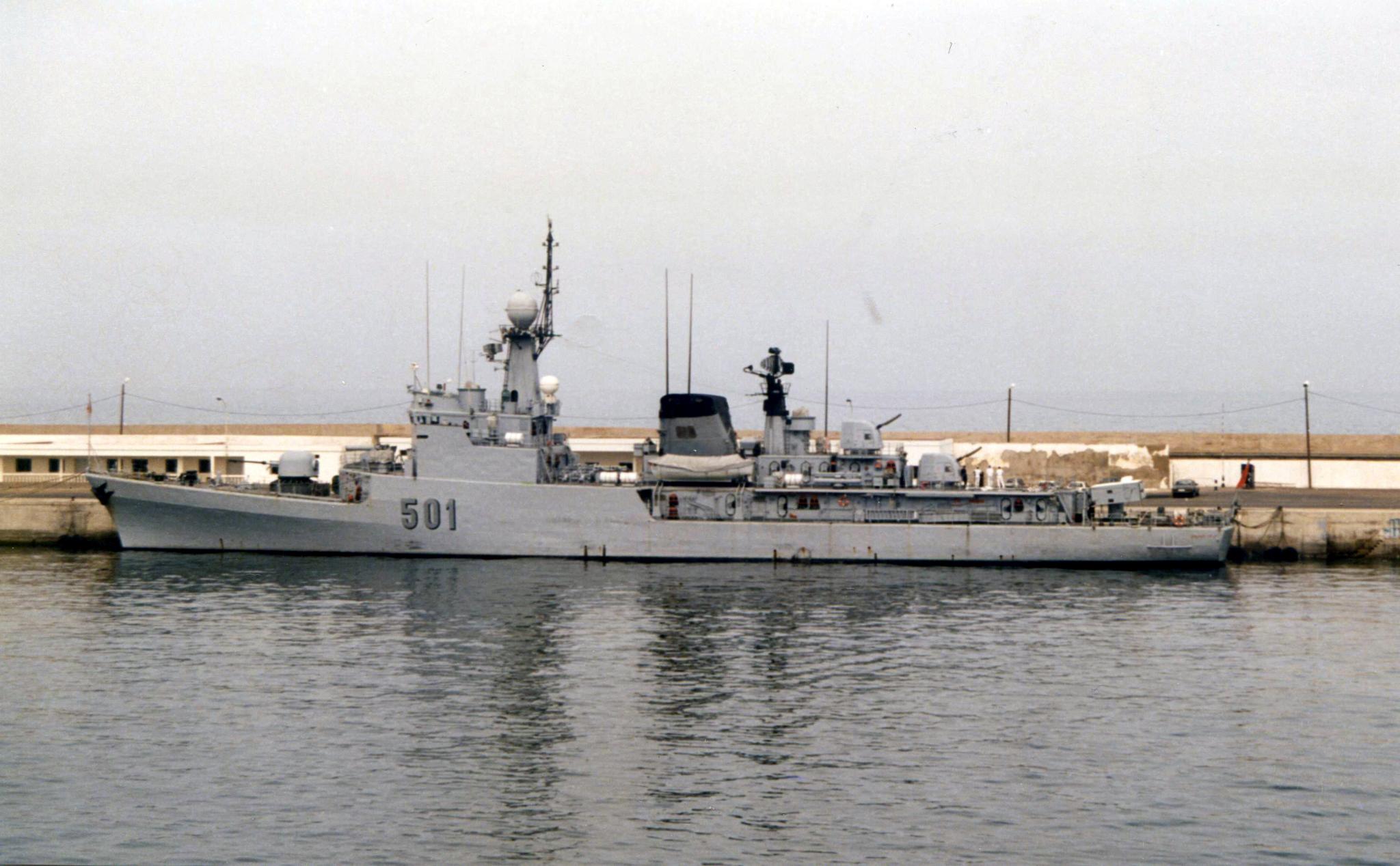 Royal Moroccan Navy Descubierta Frigate / Corvette Lt Cl Errahmani - Bâtiment École - Page 4 51101609058_3455b0989d_o_d