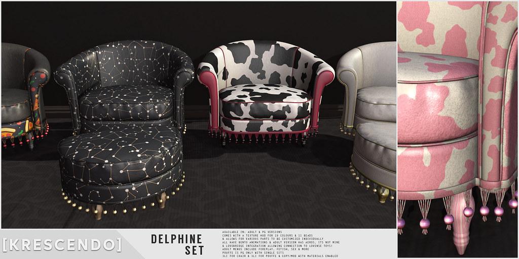 [Kres] Delphine Set