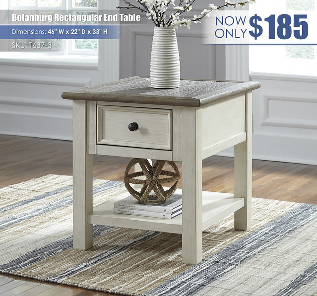 Bolanburg Rectangular End Table_T637-3_Updated