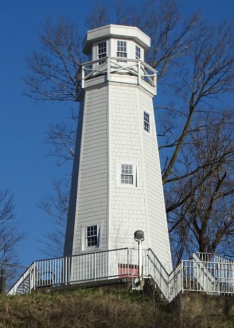 MO, Hannibal-Mark Twain Memorial Lighthouse
