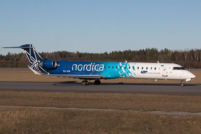Nordica Bombardier CRJ-900ER ES-ACB 210407 ARN