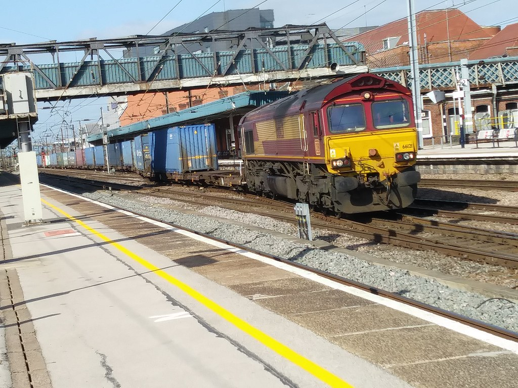 DB Cargo Class 66 66121