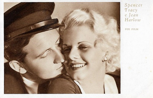 Spencer Tracy and Jean Harlow in Goldie (1931)