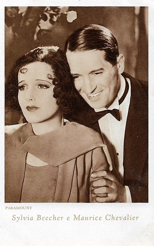Maurice Chevalier and Sylvia Beecher in Innocents of Paris (1929)