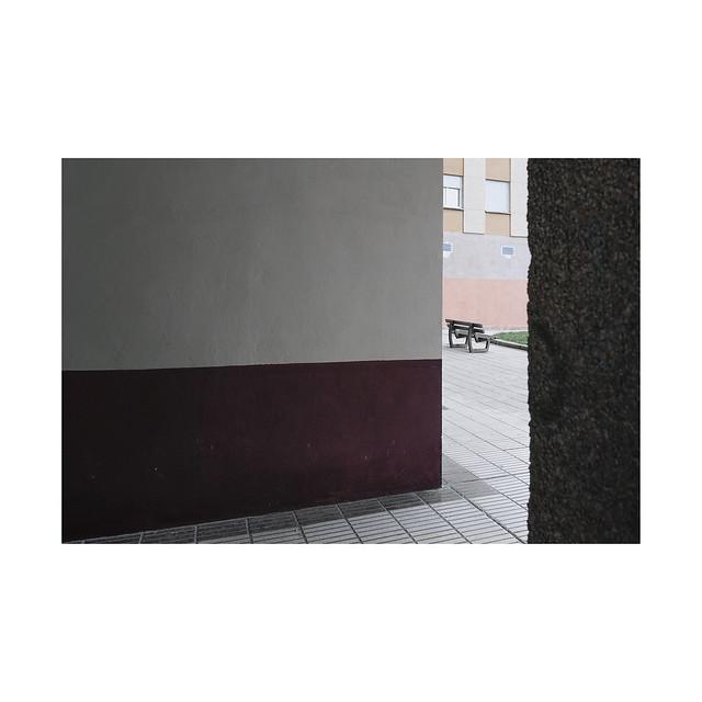 Bench for cohabitants... Villava.