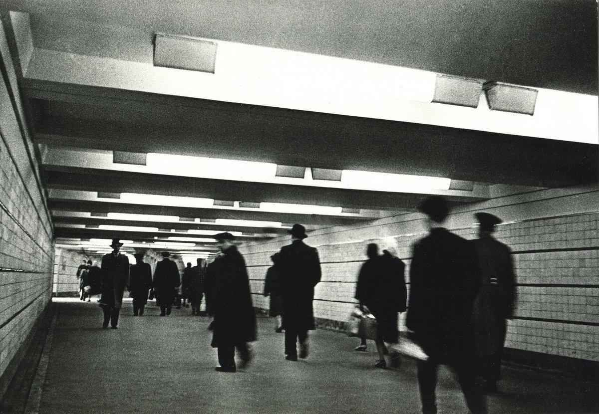 1963. Первый подземный переход под Арбатской площадью