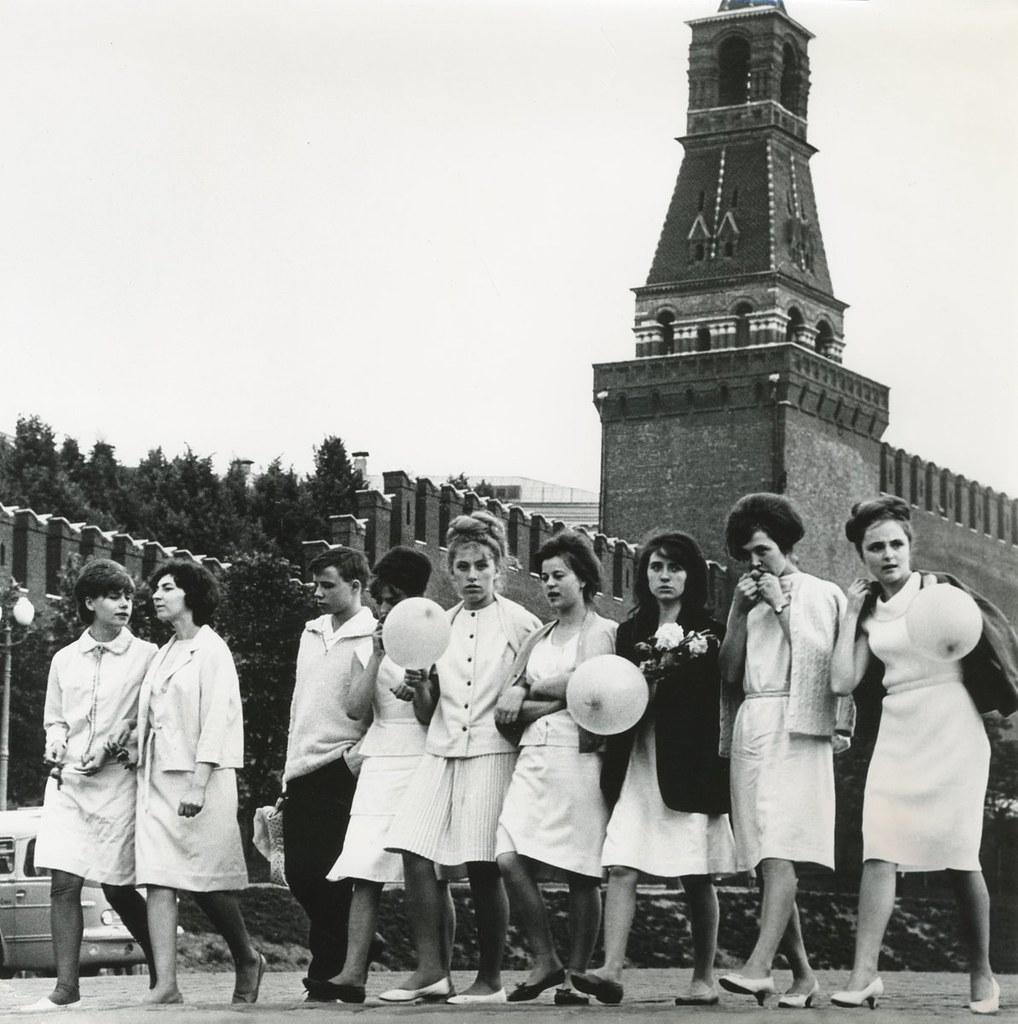 1958. Выпускники на Красной площади