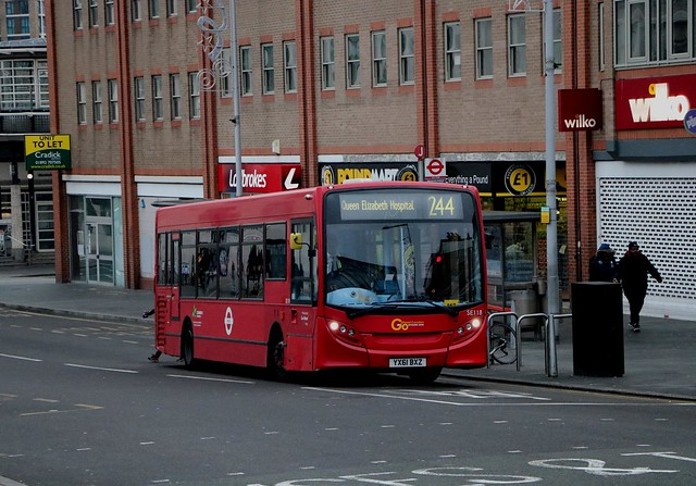 Go Ahead London Central - SE118 - YX61BXZ
