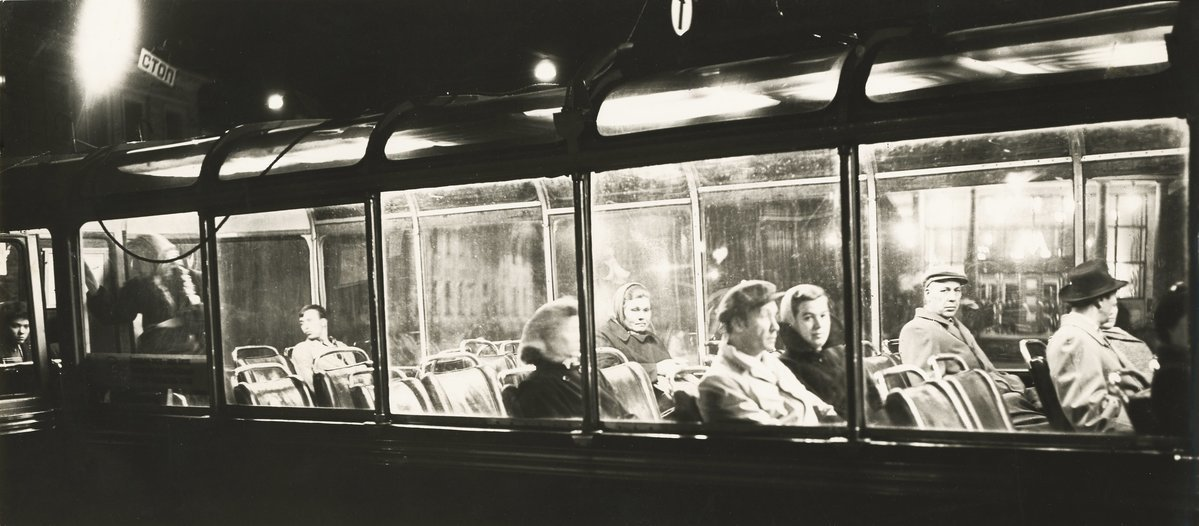 1959. Автобус с кондуктором