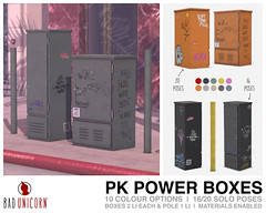 NEW! PK Power Boxes @ TMD