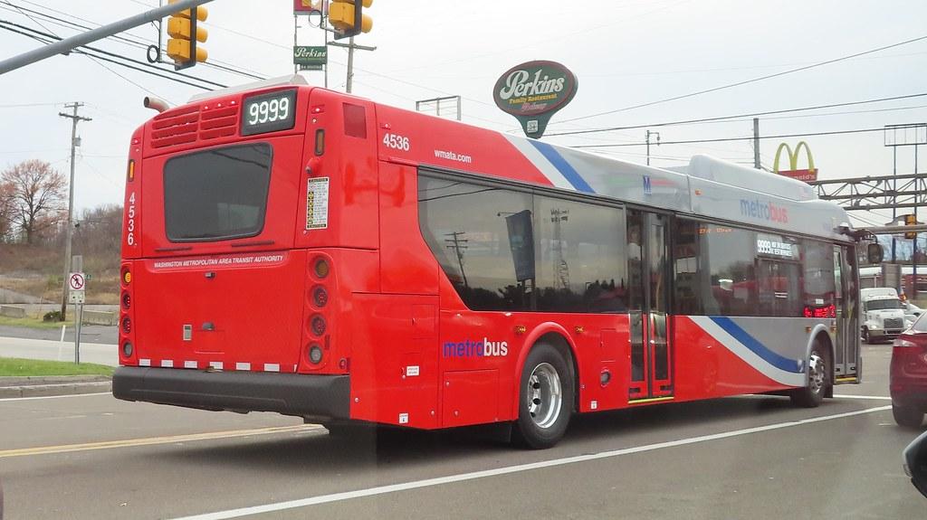 WMATA Metrobus 2021 New Flyer XD40 #4536