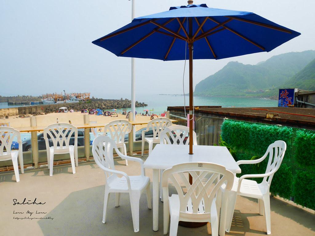 基隆一日遊外木山景點餐廳推薦喫吧海鮮景觀咖啡廳水果冰草莓冰彭湃海鮮好吃美食 (3)