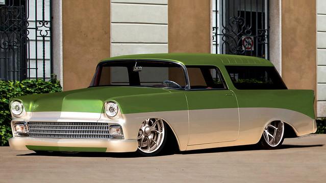 56'Chevrolet Nomad