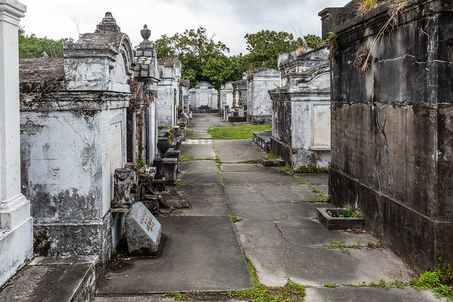 Armchair Traveling - Lafayette Cemetery No. 1 in New Orleans, Louisiana