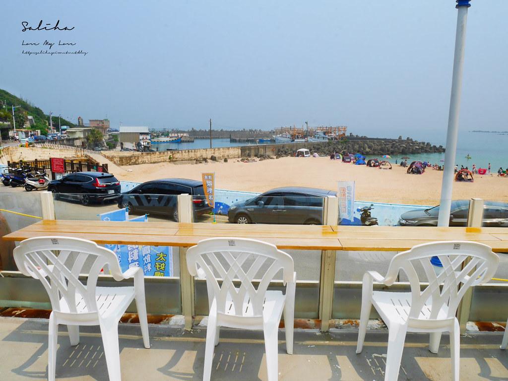 基隆外木山景觀餐廳推薦喫吧海鮮平價美食人氣小吃水果冰海鮮中式熱炒 (2)