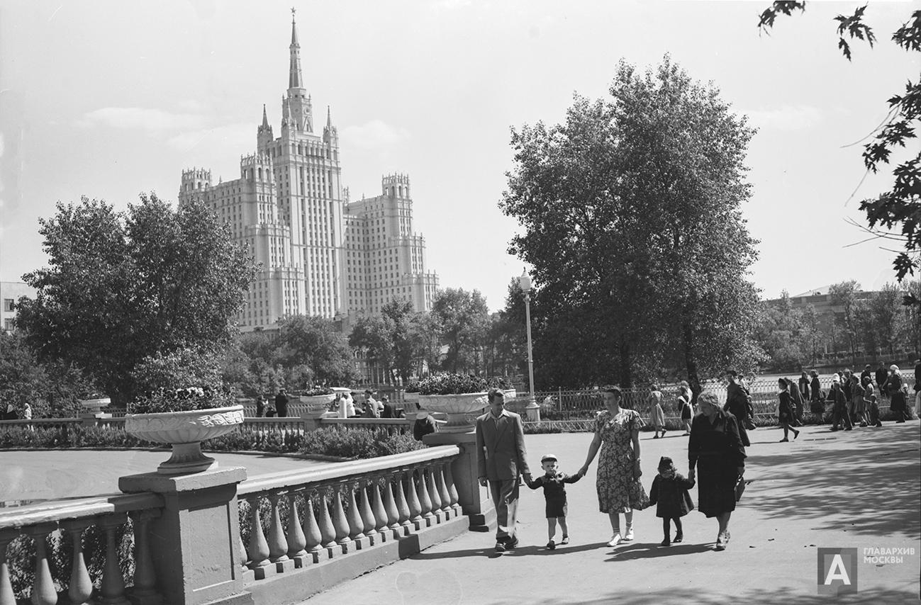 1955. Московский зоологический парк