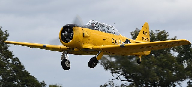North American T-6G Texan USAAF 49-3209 ANG 493209 G-DDMV