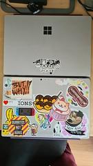 7 Apr: New laptop