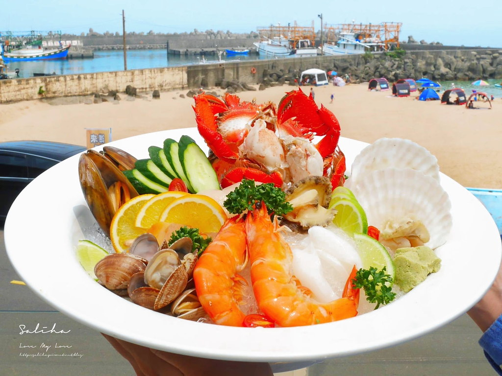 基隆外木山景觀餐廳推薦喫吧海鮮平價美食人氣小吃水果冰海鮮中式熱炒 (1)