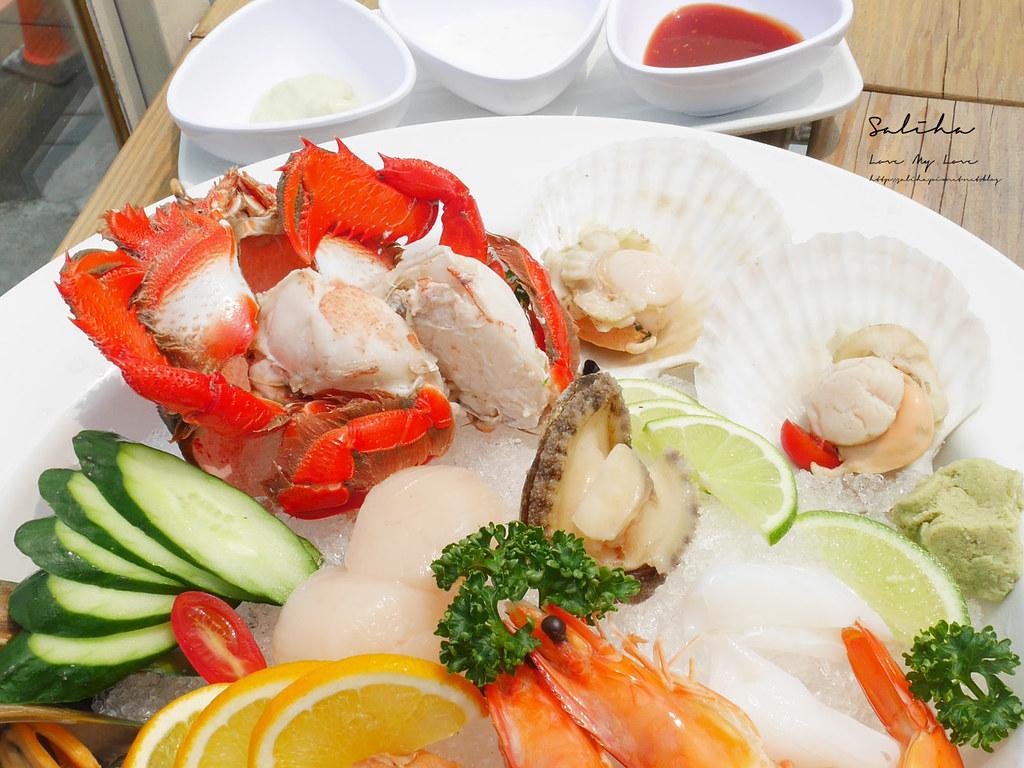 基隆IG美食推薦喫吧海鮮好吃景觀餐廳熱炒平價美食外木山咖啡下午茶吃冰 (1)